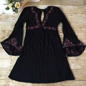 AEO Floral Boho Dress Size Small